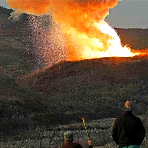 The main characteristics of the rock ammonium nitrate explosives and Scope